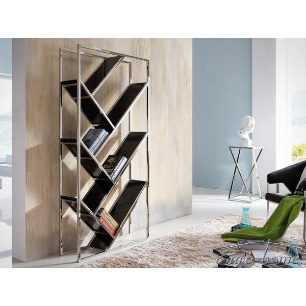 insp rega gg 1018 90 x 26 x 180cm czarny bia y sklep internetowy. Black Bedroom Furniture Sets. Home Design Ideas