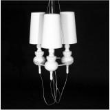 INSP. Lampa wisząca JOSE biała , czarna , złota , chrom JOS-S1-3