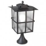 INSP. LEDS RUSTICA Lampa ogrodowa stojąca brąz 53,1 cm 10-9866-18-M3