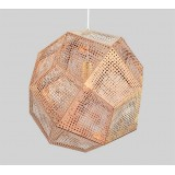 INSP. Lampa wisząca FUTURI STAR 32 cm , miedziana , srebrna , złota