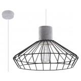 INSP. Lampa wisząca NELSON , beton