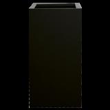 INSP. Donica Steel Plus , czarna , biała 35 x 35 x 90 cm