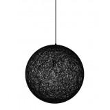 INSP. King Home Lampa wisząca LUNA 80 cm , czarna , biała