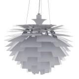 INSP. Lampa wisząca inspirowana Artichoke Louis Poulsen 60 cm , satynowa