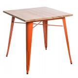 Stół Paris Wood pomarańczowy jesion