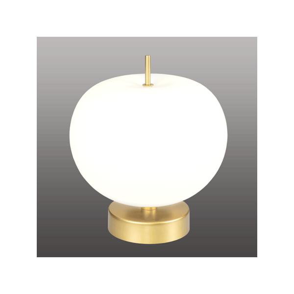 INSP. Ekskluzywna lampa stołowa APPLE T LED , złoto biała