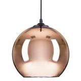 INSP. Lampa wisząca MIRROR GLOW 40 , miedziana , złota , srebrna