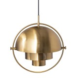INSP. Lampa wisząca MOBILE , mosiądz 38 cm