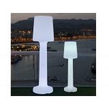INSP. NEW GARDEN lampa ogrodowa CARMEN 165 C biała - LED