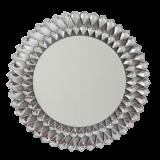 INSP. Okrągłe , ażurowe lustro Marsylia 80x80 cm