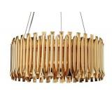 INSP. Lampa wisząca MODULAR 95 cm , złota