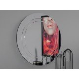 INSP. Okrągłe nowoczesne lustro Ø 100 cm