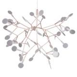 INSP. Lampa wisząca ledowa CHIC BOTANIC , miedziana , czarna 72 cm