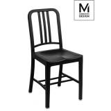 INSP. Krzesło VEGA czarne - polipropylen Modesto