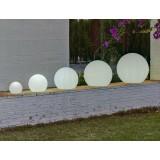 INSP. NEW GARDEN lampa ogrodowa  BULY 50 biała LED