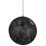 INSP. King Home Lampa wisząca LUNA 110 cm , czarna , biała
