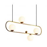INSP. lampa wisząca Art Deco Elipse XL
