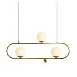 INSP. lampa wisząca Art Deco Elipse L