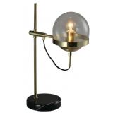 INSP. LAMPA STOŁOWA , BIURKOWA OCTOPUS Table - Brass , black