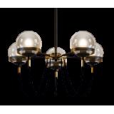 INSP. lampa wisząca Octopus Medium 60 cm , black , Brass