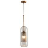 INSP. Nowoczesna lampa wisząca Lutlampa 2 , loft