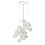 INSP. Lampa wisząca Bubble XL Round - potrójna lampa