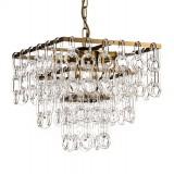 INSP. PALLERO Belle Lampa wisząca kryształowa 48 cm złoty