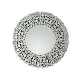 INSP. Eurohome Lustro glamour w okrągłej luksusowej ramie 16jz03