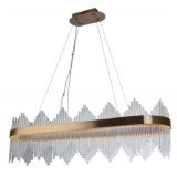 INSP. Lampa wisząca Delhi Crystal Rods Long - 110 cm LED kryształowy