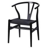 INSP. Krzesło BONBON , czarne jesionowe