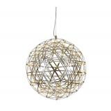 INSP. Lampa wisząca GALAXY S LED chrom 45 cm