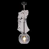 INSP. Nowoczesna lampa wisząca Mirror ball 20 cm , silver