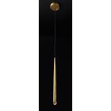 INSP. Lampa wisząca Flute Brass