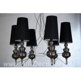INSP. Lampa wisząca Nowoczesna 90 cm czarna Jos-SU2-6