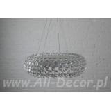 INSP. Lampa wisząca Nowoczesna 65 transparentna Cab-SU3