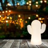 INSP. NEW GARDEN lampa ogrodowa PANCHITO BLANCO INDOOR & OUTDOOR biała - LED, wbudowana bateria