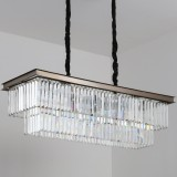 INSP. Step into Design Lampa wisząca SPARKLE DOUBLE antracyt 100 cm
