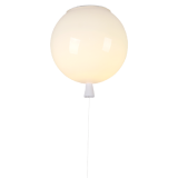 INSP. Nowoczesna lampa sufitowa Baloon 25 biała , czerwona