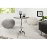 INSP.INVICTA stolik JARDIN SQUARE srebrny - aluminium