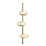 INSP. Lampa wisząca kryształowa Rings V3  LED