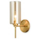 INSP. Kinkiet ścienny Torch Glass & Brass