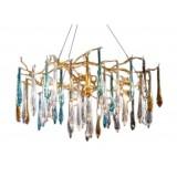 INSP. Lampa wisząca Wilderness 60 cm , kolorowe szkło