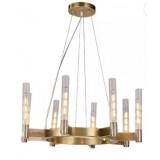 INSP. Nowoczesna Lampa wisząca Ordo 65 cm , tuby szklane