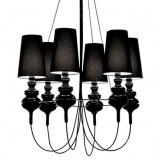 INSP. Lampa wisząca JOSE biała , czarna , 90 cm JOS-S1-6