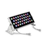 LEDS RAY 05-2498-54-H6 Kinkiet Zewnętrzny aluminium źródło światła RGB