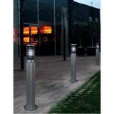 INSP. LEDS TEMIS 55-9479-34-M2 Lampa Ogrodowa stojąca 100 cm szara