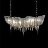 INSP. Lampa wisząca srebrne łańcuszki 160 cm TLA-S3