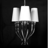 INSP. Lampa wisząca Bru Bruni 80cm 3 klosze  BRU-S3